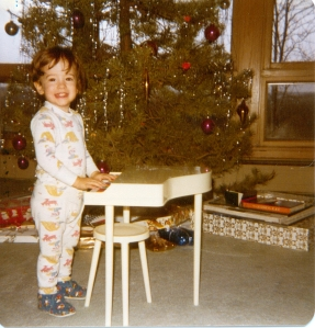Colt Foutz piano Christmas 1977