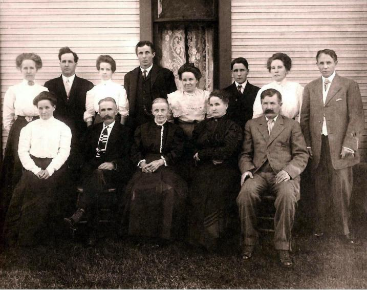 Fisher Walters Family Early 1900s