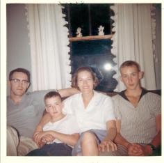 Foutz Don Erma Bob Fred c 1960