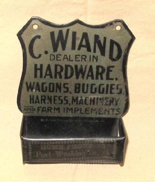 Curtis Wiand Wall Safe Hardware Store Port Washington Ohio